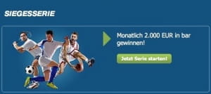 bet-at-home Siegesserie Aktion